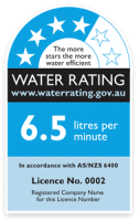 WELS Water Rating Label on Taps and Toilets? 1