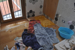 illegal plumbing causes water damage to hairdressing salon