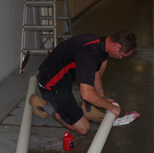 apprentice plumber at Whywait Plumbing Dillon Lowes