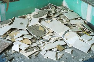 a bathroom renovation involves demolishing the existing bathroom by Whywait Plumbing
